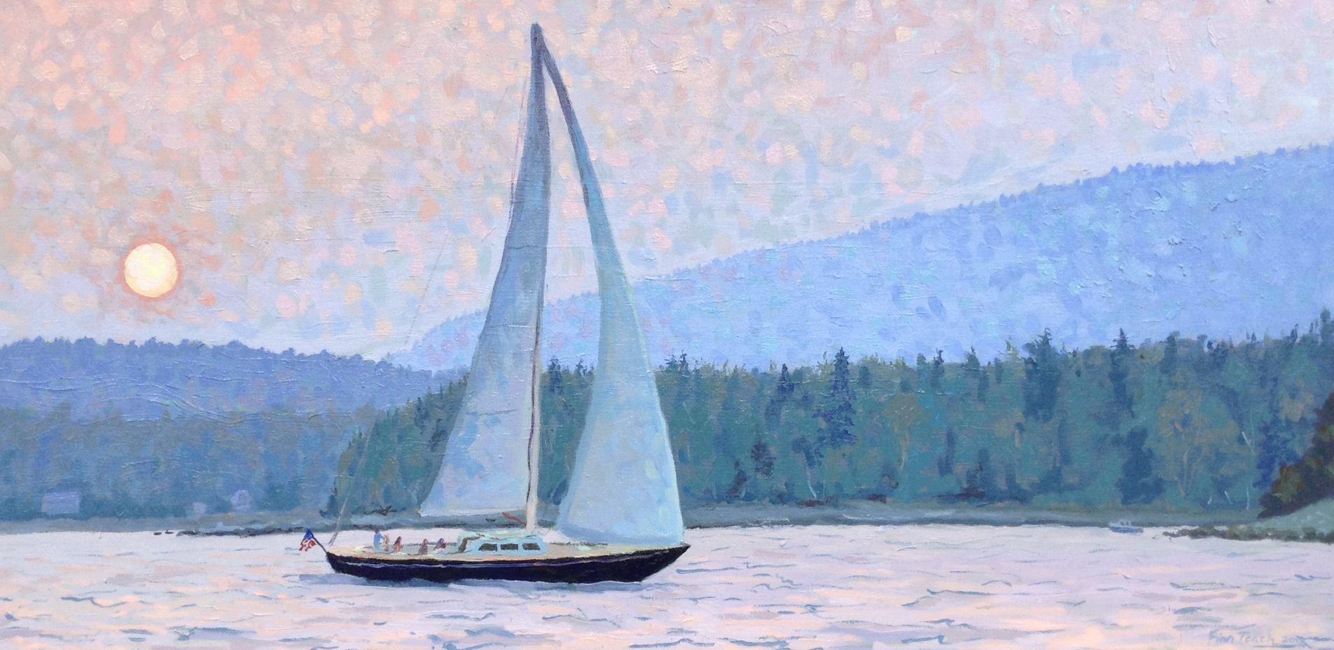 Easy Sailboat Painting
