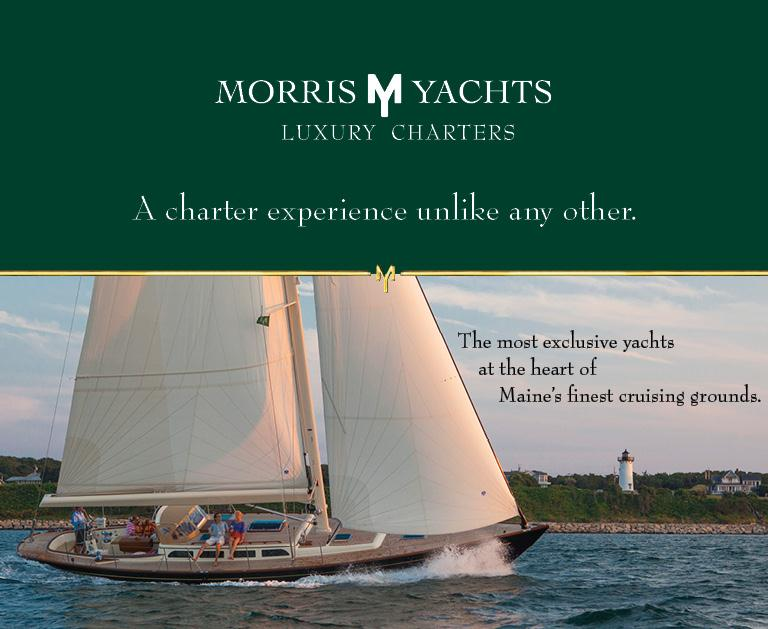 Morris Yachts Charter