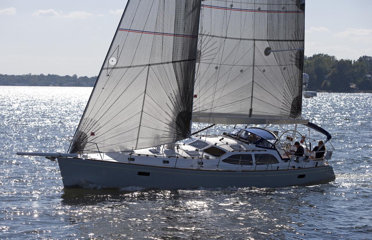 Morris 45BOTY boat test, Chesapeake Bay