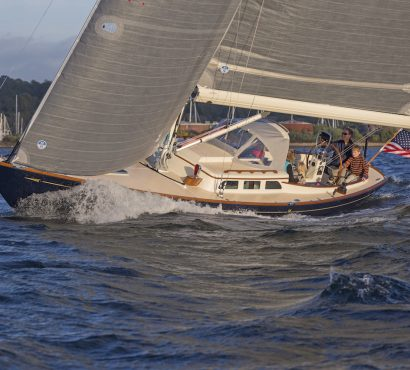 """The Morris Yacht that started the """"Classic American Daysailer"""" revolution… is even better now"""