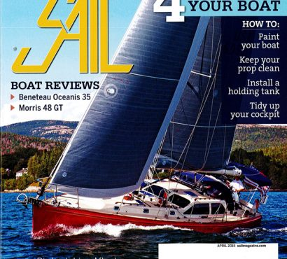 Sail Magazine, April 2015