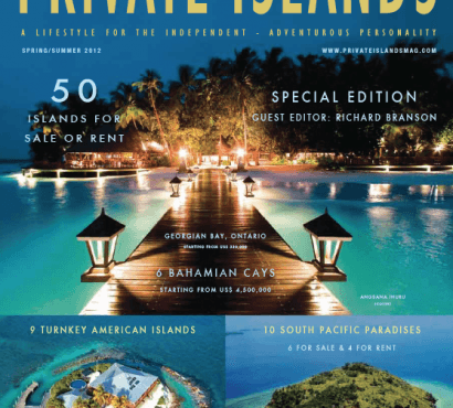 Private Islands Magazine, Summer 2012