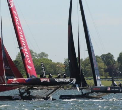 Slide Show – Our M52 on the America's Cup Race Course